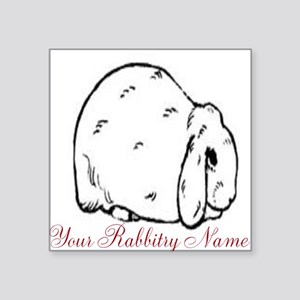 Personalized Mini Lop Sticker