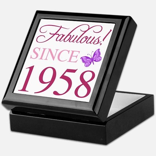1958 Fabulous Birthday Keepsake Box