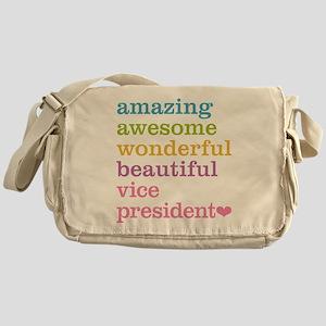 Amazing Vice President Messenger Bag