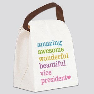 Amazing Vice President Canvas Lunch Bag