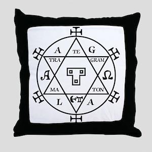 Hexagram of Solomon Throw Pillow