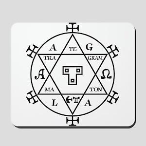 Hexagram of Solomon Mousepad