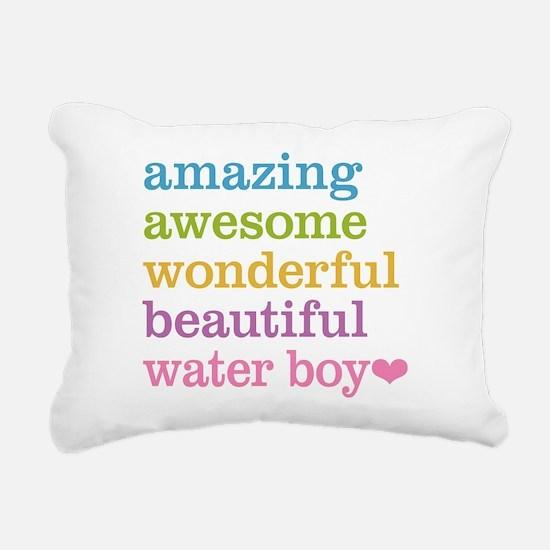 Amazing Water Boy Rectangular Canvas Pillow