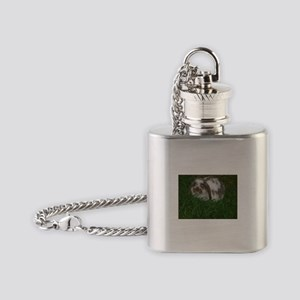 Bunny Flask Necklace