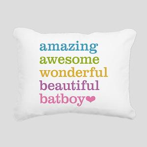 Amazing Batboy Rectangular Canvas Pillow