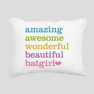 Amazing Batgirl Rectangular Canvas Pillow