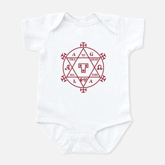 Hexagram of Solomon Infant Bodysuit