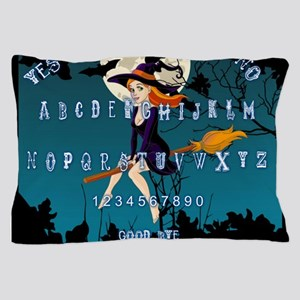 Witch Ouija Pillow Case