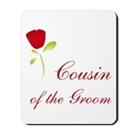 Red Groom's Cousin Mousepad