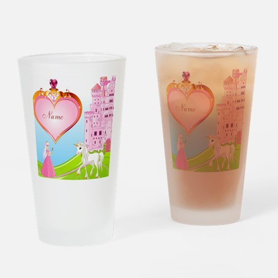 Princess Drinking Glass