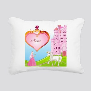 Princess Rectangular Canvas Pillow