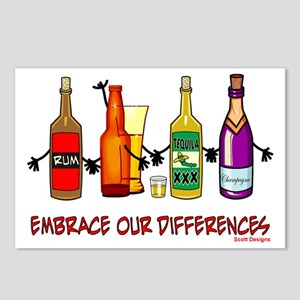 Embrace Our Differences Postcards (Package of 8)