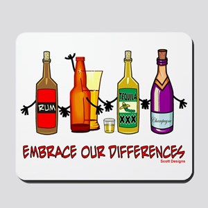 Embrace Our Differences Mousepad