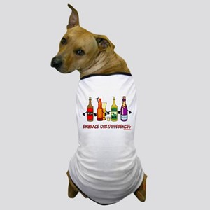 Embrace Our Differences Dog T-Shirt