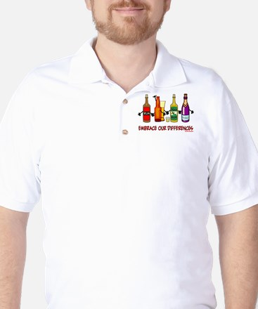 Embrace Our Differences Golf Shirt