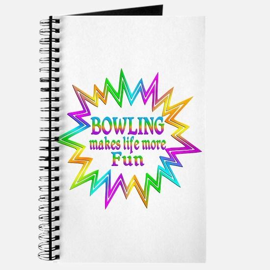 Bowling Makes Life More Fun Journal