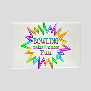 Bowling Makes Life More Fun Magnets