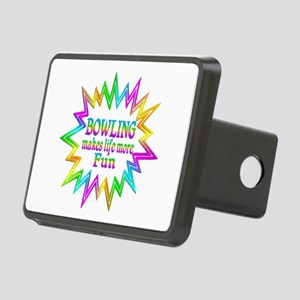 Bowling Makes Life More Fu Rectangular Hitch Cover