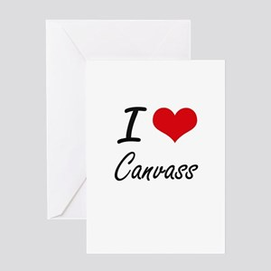 I love Canvass Artistic Design Greeting Cards