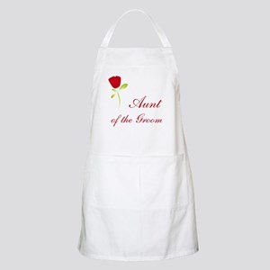 Red Groom's Aunt BBQ Apron