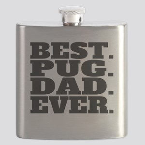 Best Pug Dad Ever Flask