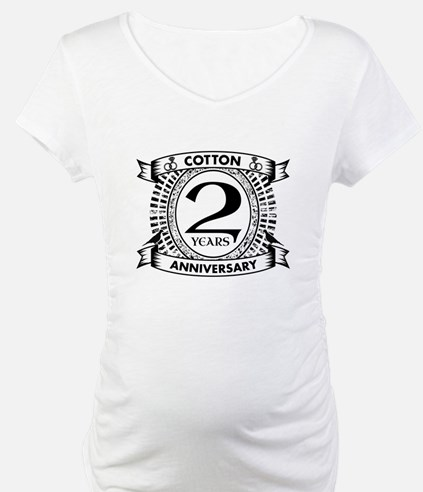 2nd cotton Wedding anniversary Shirt