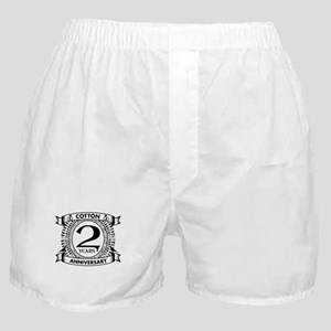 2nd cotton Wedding anniversary Boxer Shorts