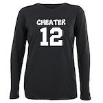 Cheater 12 Plus Size Long Sleeve Tee