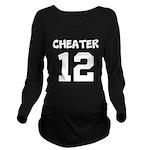 Cheater 12 Long Sleeve Maternity T-Shirt
