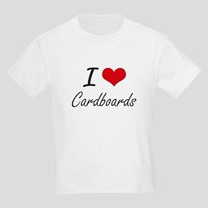I love Cardboards Artistic Design T-Shirt