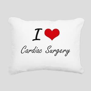 I love Cardiac Surgery A Rectangular Canvas Pillow