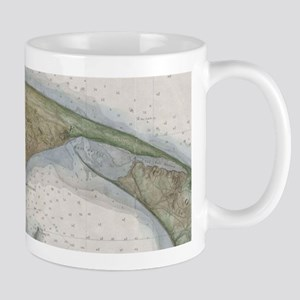 Vintage Map of Provincetown Mugs