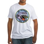 USS GRAYBACK Fitted T-Shirt