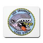 USS GRAYBACK Mousepad
