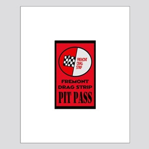 Fremont Drag Strip Pit Pass Posters