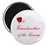 Red Groom's Grandmother Magnet