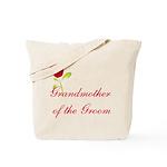 Red Groom's Grandmother Tote Bag