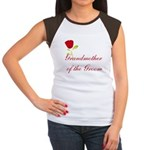 Red Groom's Grandmother Women's Cap Sleeve T-Shirt