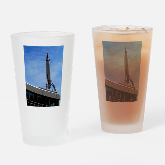 Rocket to Mars. Drinking Glass
