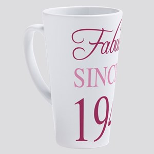 1948 Fabulous Birthday 17 oz Latte Mug