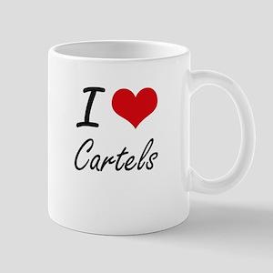 I love Cartels Artistic Design Mugs