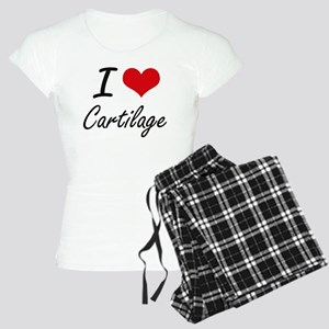 I love Cartilage Artistic D Women's Light Pajamas