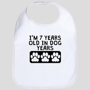7 Years Old In Dog Years Bib