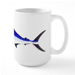 Striped Marlin v2 Mugs