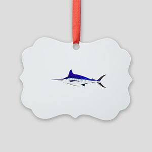 Striped Marlin v2 Ornament
