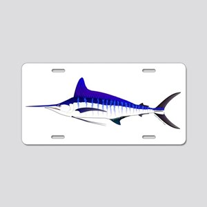Striped Marlin v2 Aluminum License Plate