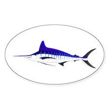 Striped Marlin v2 Sticker