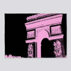 Arc de Triomphe paris 5'x7'Area Rug