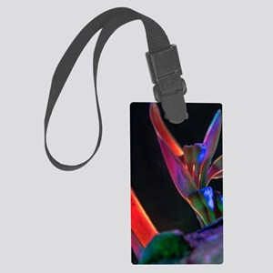flower and light Large Luggage Tag