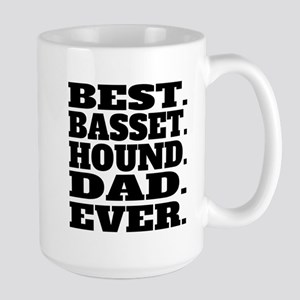 Best Basset Hound Dad Ever Mugs